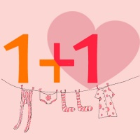 1+1 macht kleine herzen glücklich - Machen Sie mit!