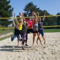 ERGO Beachvolleyball-Turnier zugunsten von kleine herzen