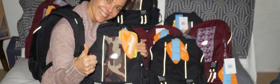 200 Schultaschen für Russische Waisenkinder –  Herzlichen Dank an die Firma Schneiders
