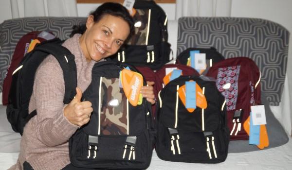 Schneiders Schultaschen für Russische Waisenkinder