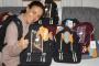200 Schultaschen für Russische Waisenkinder -  Herzlichen Dank an die Firma Schneiders