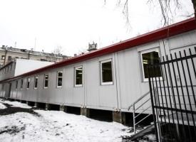 Das Flüchtlingszentrum von Kharkiv