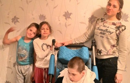 Aristrah, Aglaia, Vladislav und Margarita