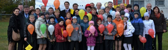 Vorontsovo Russland, der messbare Erfolg eines Großprojekts, wo das Leben von 40 bedürftigen Kindern verändert wurde.