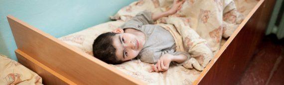Schwerbehinderte Kinder in der Ukraine brauchen dringend Hilfe