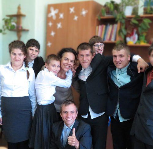 Les enfants de Opochka