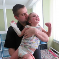 Hilfe für Kinder mit unheilbaren Krankheiten - Kinderpalliativstation in Kiew