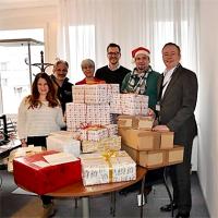 Weihnachtsengel 2016 - Merck, Daiichi-Sankyo, Konica-Minolta