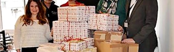 Weihnachtsengel 2016 – Merck, Daiichi-Sankyo, Konica-Minolta