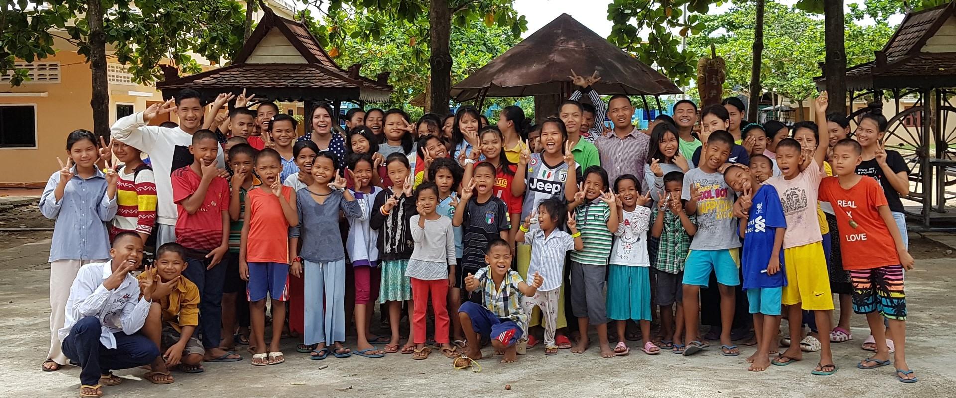 Mathilde und die Kinder von FLO