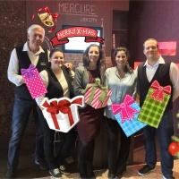 Die ACCOR Hotels unterstützen die Weihnachtsengel-Aktion