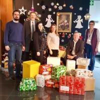 Weihnachtsengel bei der Firma Konica Minolta Austria